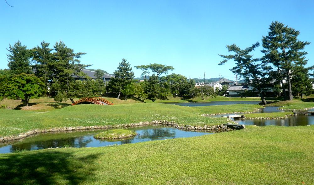 国指定名勝 旧大乗院庭園